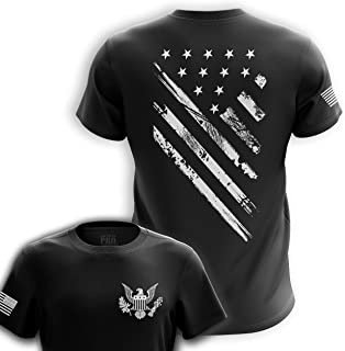 Sponsored Ad - U.S Flag Patriotic Military Army Mens T-Shirt Printed & Packaged in The USA