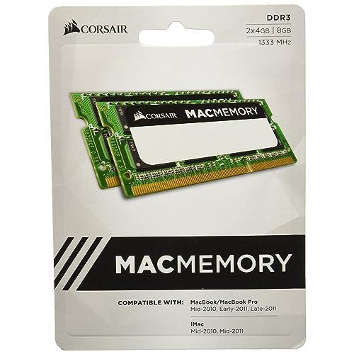 Corsair CMSA8GX3M2A1333C9 Apple Certified 8GB (2x4GB) DDR3 1333 MHz (PC3 10666) Laptop