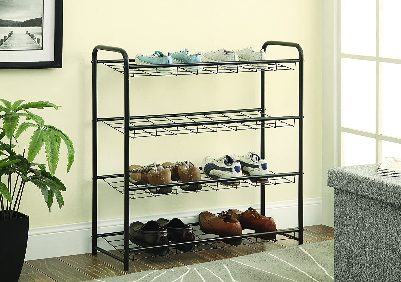 Coaster 950031 Home Furnishings shoes Rack, Black