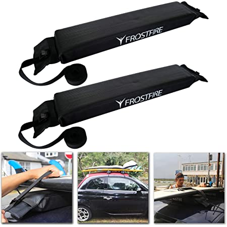 Wing Mirrors World Renault Captur Soft Padded Strapped Roof Rack Bars No Fittings Required
