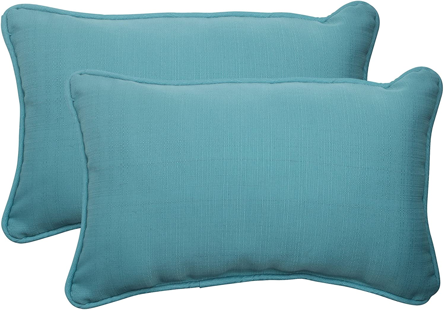 Amazon Com Pillow Perfect Outdoor Indoor Forsyth Pool Floor Pillow 25 X 25 Turquoise Home Kitchen