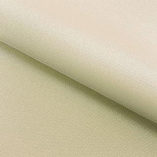 NOVELY Oxford 210D | Polyester | anschmiegsam nachgiebig | Meterware Segeltuch Creme