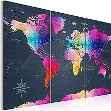 artgeist Pinboard World Map 47.2