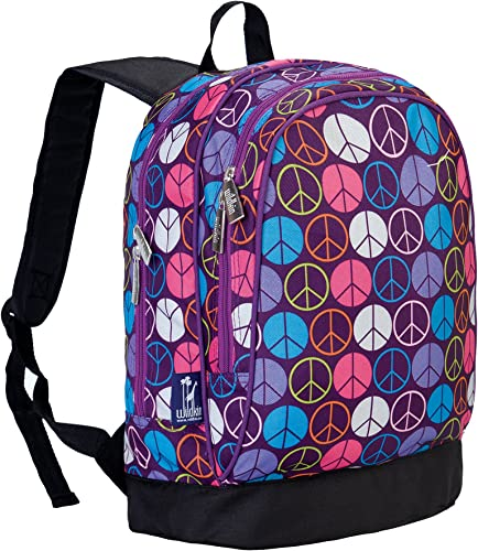 Peace Signs lila Sidekick Backpack