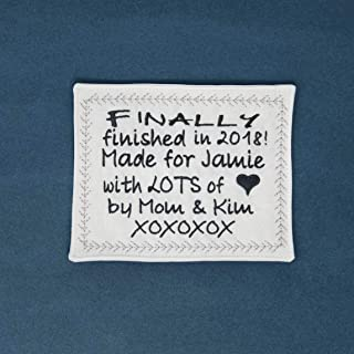 labels for quilts personalized