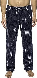 Noble Mount Twin Boat Mens Pajama Pants - 100% Cotton Flannel Mens Lounge Pants