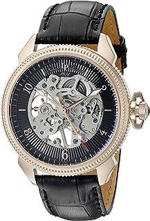 Lucien Piccard Men's LP-40052M-RG-01 Trevi Analog Display Mechanical Hand Wind Black Watch