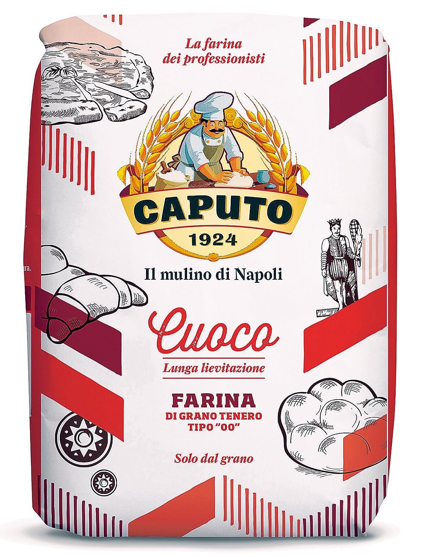 Caputo Farina Cuocco Tipo '00' / 1er pack von 1000 Gramm / Premium Qualität  aus Italien / Reich an Protein : Amazon.de: Lebensmittel & Getränke