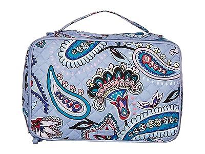 Vera Bradley Iconic Large Blush Brush Case (Makani Paisley) Luggage