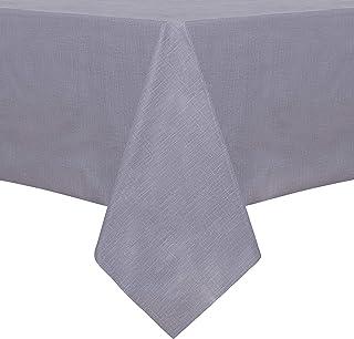 سفره رومیزی PVC مستطیل ضد آب 100٪ ، پارچه رومیزی وینیل ضد روغن و ضد آب ، پاک کردن روکش میز تمیز برای میز ، مهمانی بوفه و کمپینگ ، 54 78 78 اینچ خاکستری
