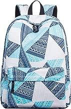 Leaper Fashion School Backpack Girls Bookbag Satchel Travel Daypack Geometric
