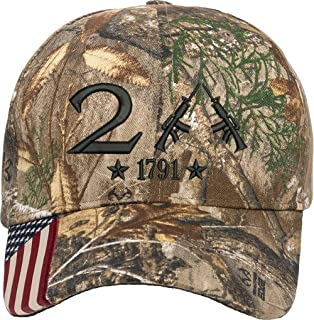Best AmazingShirts Only 2nd Amendment 1791 AR15 Guns Right Freedom Embroidered One Size Fits All Structured Hats Reviews