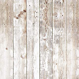 16.4Ft Rustic Wood Wallpaper Wood Plank Wallpaper Self Adhesive Wallpaper Removable Wallpaper Shiplap Weathered Reclaimed Distressed Wood Wallpaper Stick and Peel Vinyl Faux Wood Look Wallpaper Roll