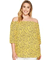 MICHAEL Michael Kors - Plus Size Mini Finley Off Shoulder Top