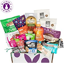 High Protein Fitness Healthy Snack Box: Premium Mix of Healthy Gourmet Protein Snacks On The Go Meal Replacements, Perfect for Athletes College or Healthy Snack Care Packages For Military