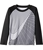 Nike Kids - Swoosh Dri-FIT Raglan Tee (Toddler)