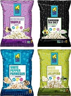 Pop Art Snacks - Variety Pack (24 pack of sampler bags) - Vegetarian Pre Cooked Gourmet Popcorn Bags Packs - Gluten Free Healthy Popcorns Snacks for Kids and Adults
