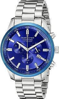 Men's 10222 3MBU BUIN Aquarider Analog Display Swiss Quartz Silver Watch