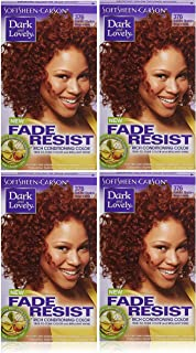 Dark and Lovely Fade Resistant Rich Conditioning Color, No. 376, Red Hot Rhythm, 1 ea (Pack of 4)