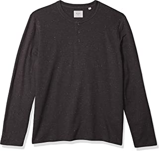 Men's Long Sleeve Donegal Terry Henley