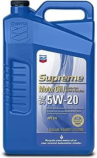 Chevron Supreme 220135474 5W-20 Motor Oil - 1.25 Gallon