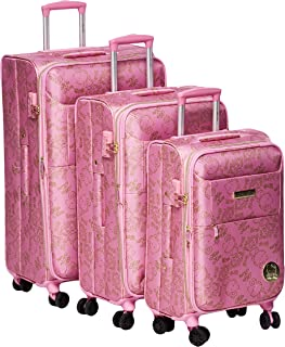 Hello kitty Luggage Trolley Bags Set 3 pcs 54-10697-light pink