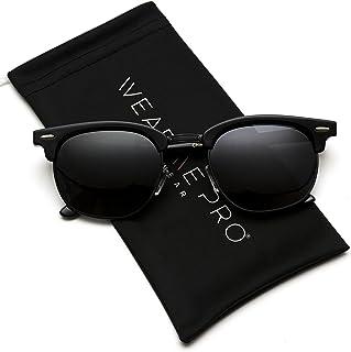 336db76c130 WearMe Pro - Classic Half Frame Polarized Semi-Rimless Rimmed Sunglasses