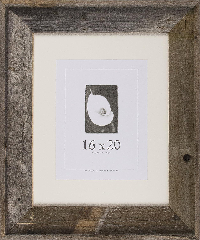 16x20 Picture Frames - Barnwood Frames - Barnwood Signature Series (3 5 8  Profile)
