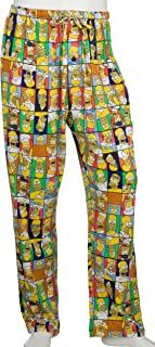 Briefly Stated Simpsons Men's Homer Faces Knit Pant