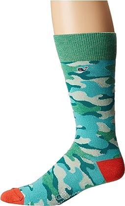 Printed Camo Socks