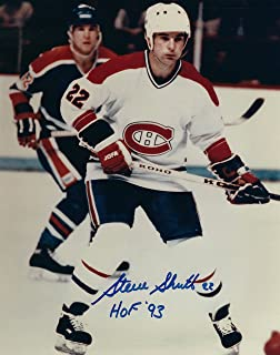 Autographed Steve Shutt Montreal Canadiens 8x10 Photo with COA