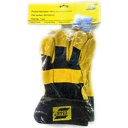 ESAB Heavy Duty Welding Hand Gloves, Multicolour
