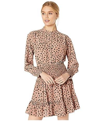 La Vie Rebecca Taylor Long Sleeve Le Faune Dress (Dawn Combo) Women