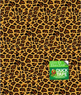 8.25x10 Leopard Tape Sheet, Pack of 6