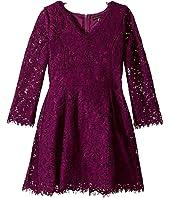 Ella Moss Girl - Gwen All Over Lace Dress (Big Kids)