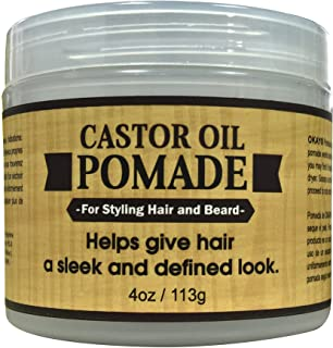 Sponsored Ad - OKAY | Men's Castor Oil Beard and Hair Pomade | For All Hair Types & Textures | All Day Hold | Sleek, Defin...