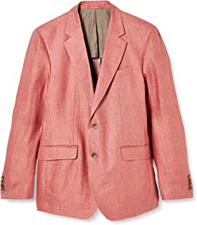 Hackett London Men's Delave Linen Hopsack Jacket