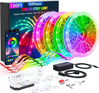 Led Strip Lights 130 Feet,DZFtech Color Changing Led...