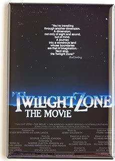Twilight Zone Movie Poster Fridge Magnet (2.5 x 3.5 inches)