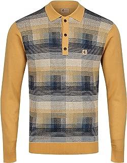 Matrix Long Sleeve Polo Shirt | Solar
