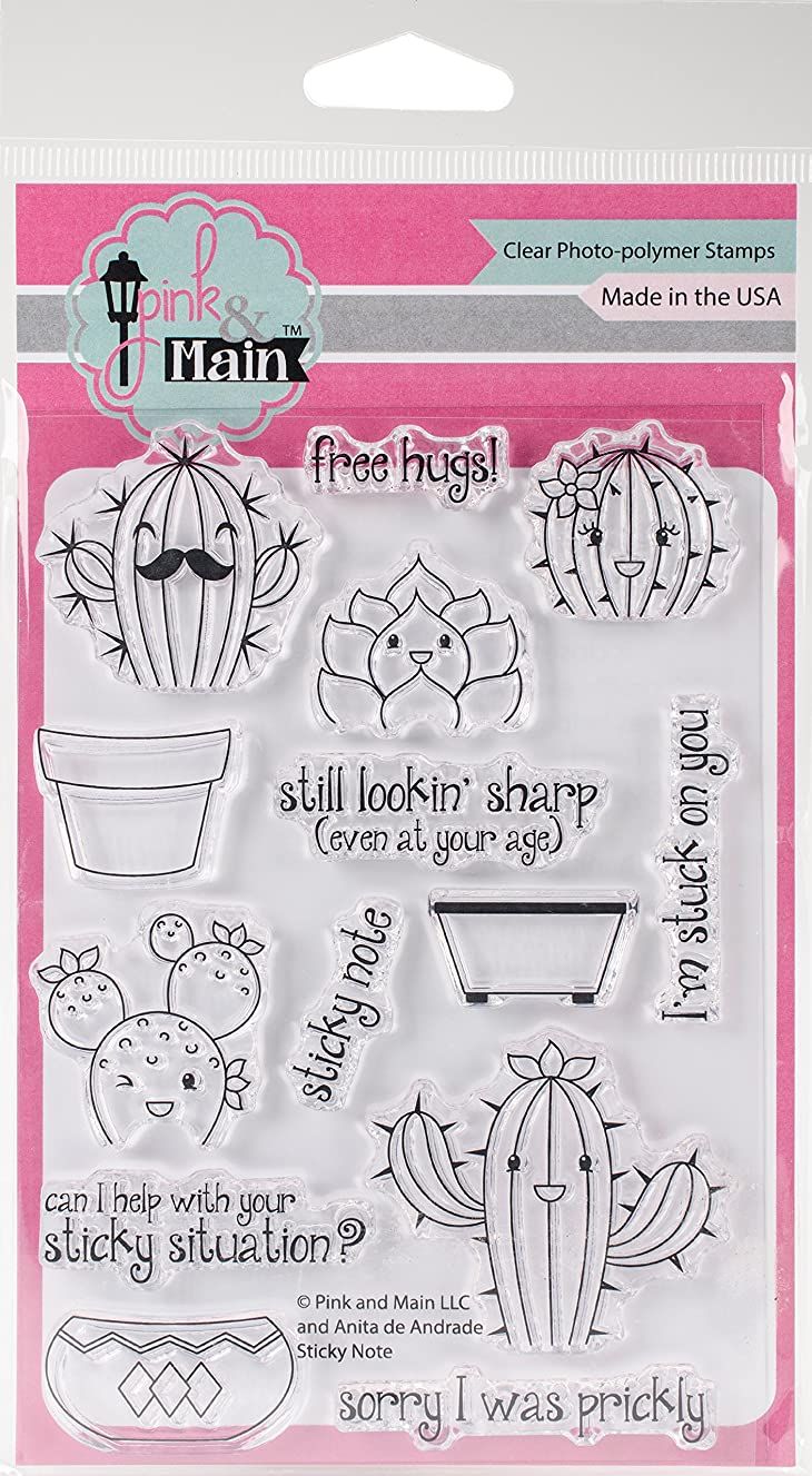 Pink & Main PM0236 Clear Stamps 4
