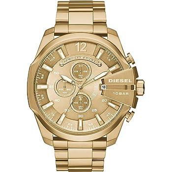 DIESEL ディーゼル 腕時計 MEGA CHIEF オールゴールド DZ4360 [並行輸入品]