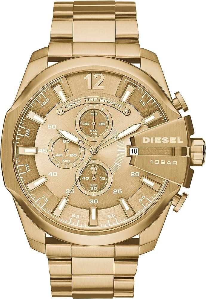 Diesel orologio cronografo per uomo in acciaio inossidabile DZ4360