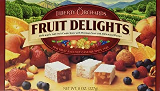 Liberty Orchards Fruit Delights Fruit & Nut Candies, 8 Ounce