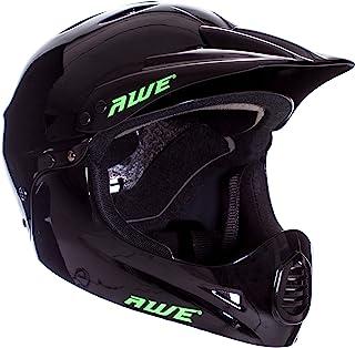 comprar comparacion AWE - Casco integral para BMX, tamaño medio, 54-58 cm, color negro
