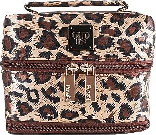 PurseN Small Jewelry Case, Leopard/Brown
