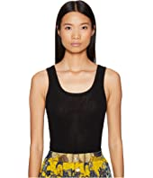FUZZI - Solid Tulle Tank Top