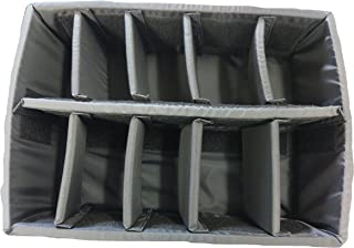 Padded divider set for Pelican 1520 Case. Divider and lid foam only.