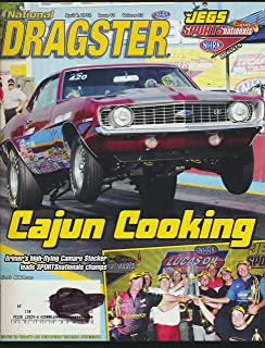Dragster : Articles- Brimer's High Flying Camaro Stocker Leads; NHRA DRivers and The Harlem Globetrotters; On the Road with Dan Fletcher; Racers Need to Educate Themselves on Marketing
