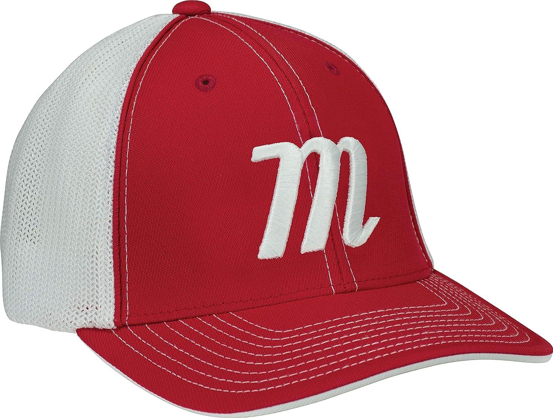 Marucci Mens Marucci Sports, MAHTTRPRA, M Trucker SnapbackPl MAHTTRPRA, RED, One Size